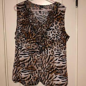MILANO Cheetah print shirt